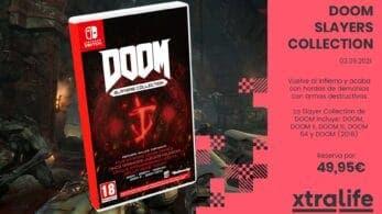 Arrasa el infierno desde tu Nintendo Switch con DOOM Slayers Collection: reserva disponible