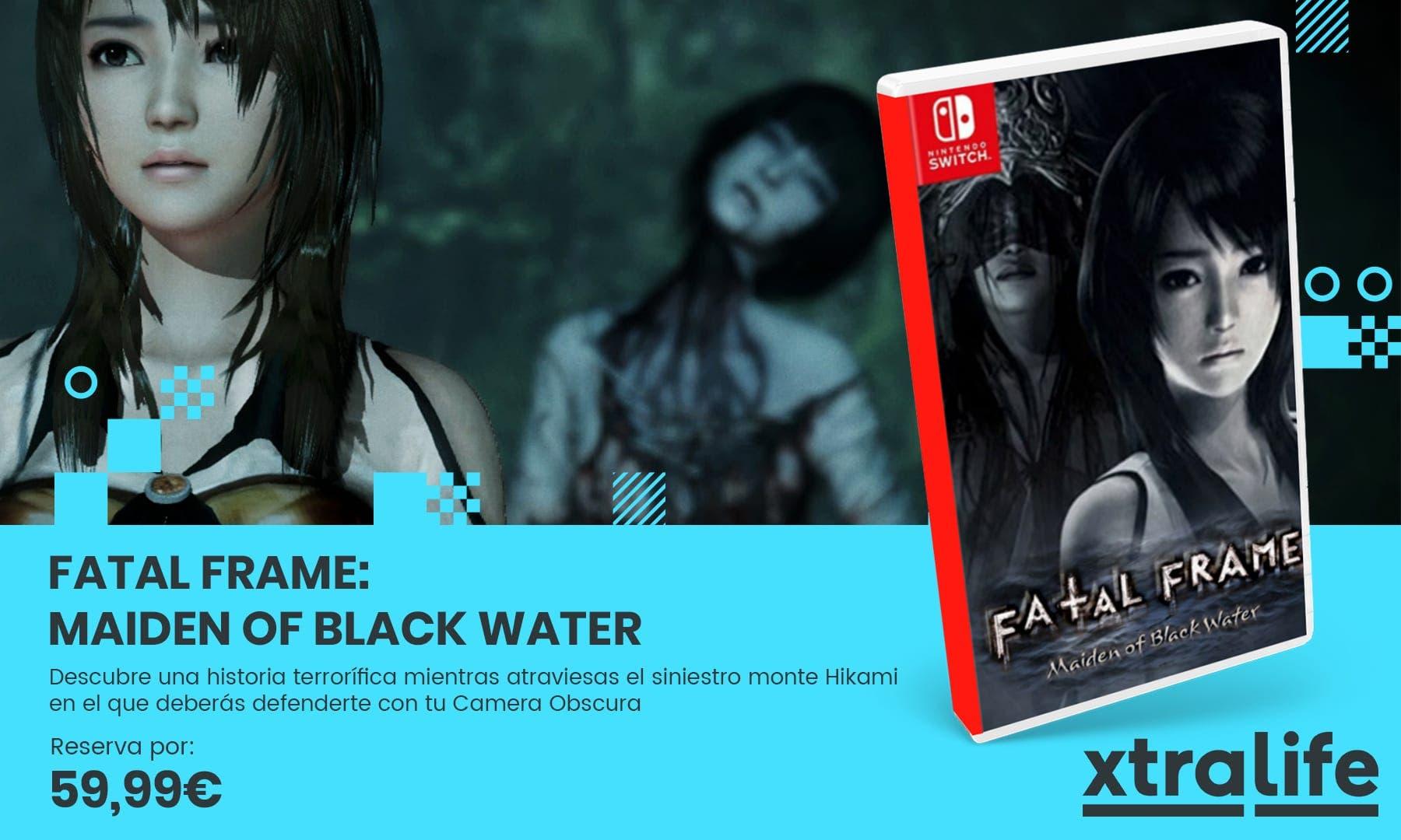 Vuelve al monte Hikami en Fatal Frame: Maiden of Black Water desde tu Nintendo Switch: reserva disponible