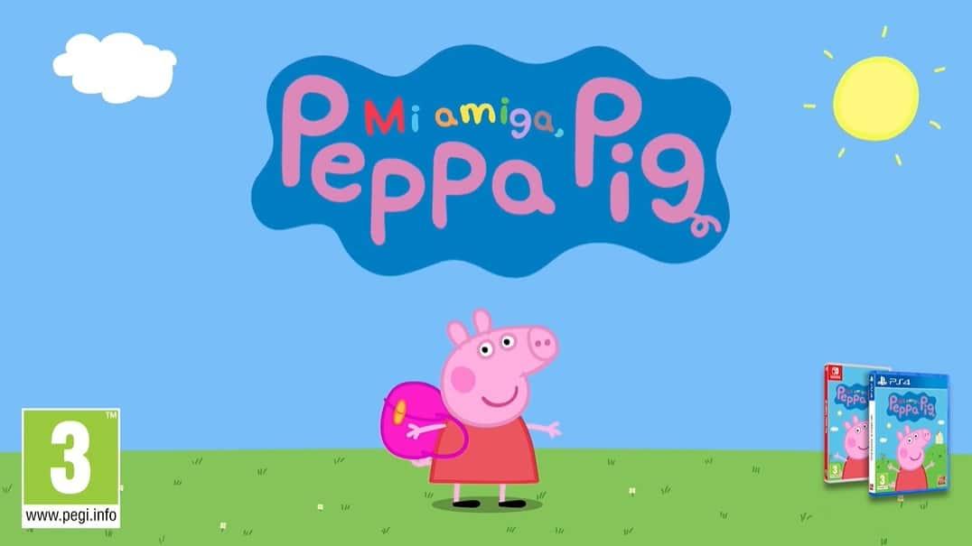 Mi Amiga Peppa Pig luce sus mecánicas de juego en este nuevo tráiler en español