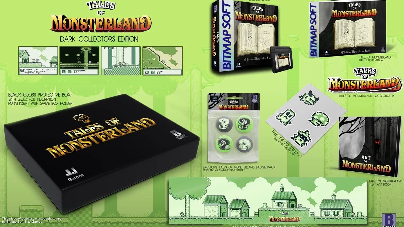 Así es Tales of Monsterland, el nuevo juego que sale para Game Boy en pleno 2021