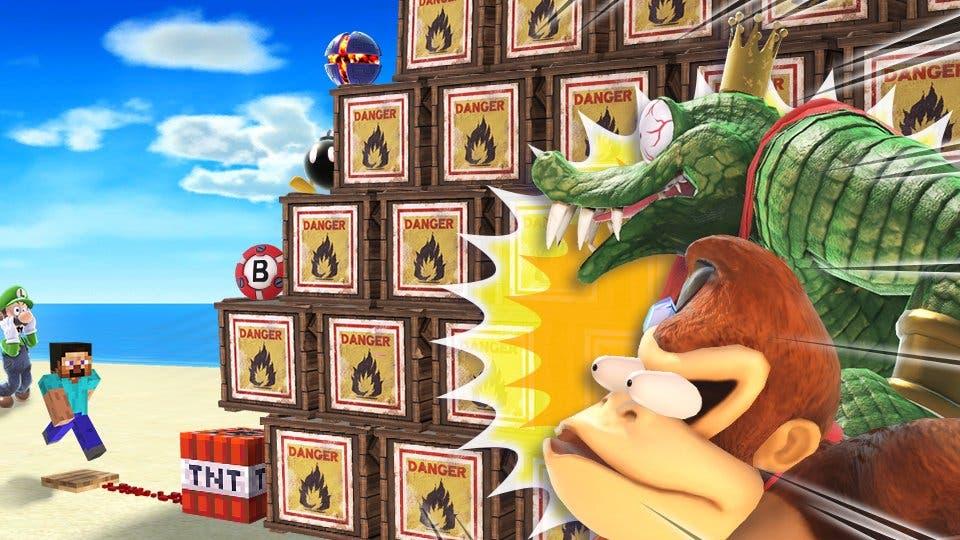 Las cajas explosivas protagonizan el siguiente torneo de Super Smash Bros. Ultimate