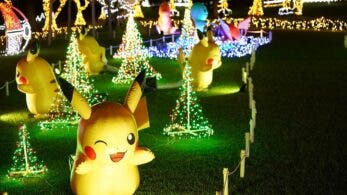El jardín botánico de Okinawa prepara una exposición de Pokémon llena de luz