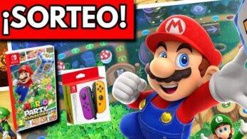 [Act.] ¡Sorteo exprés de esta copia física de Mario Party Superstars + Joy-Con morado y naranja neón!