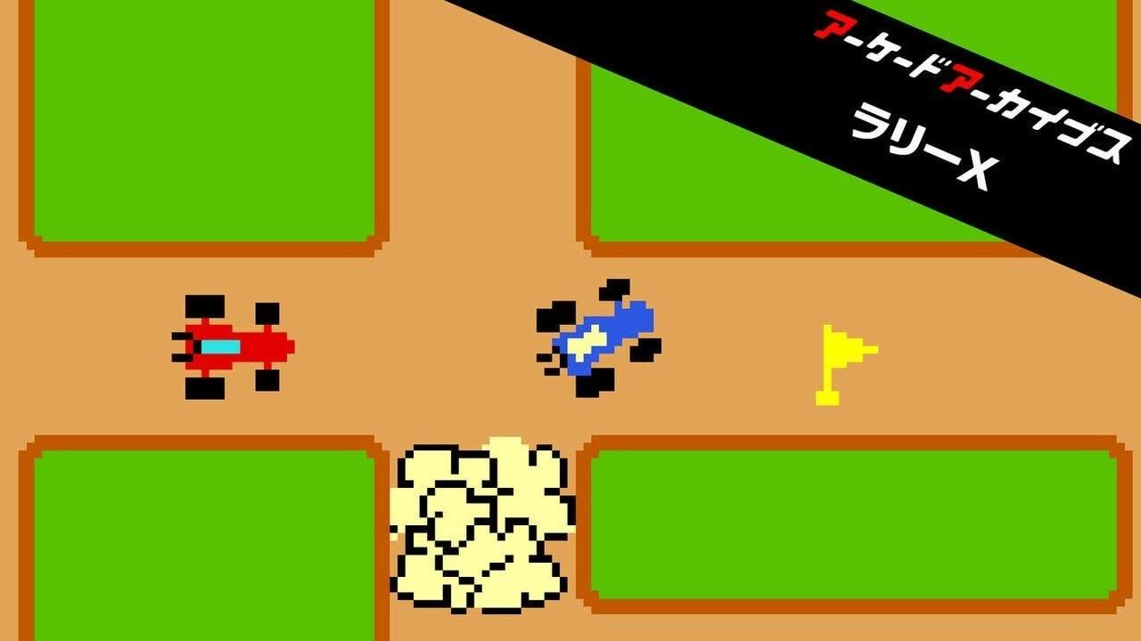 El clásico Rally-X de Namco llegará hoy a Nintendo Switch bajo el sello Arcade Archives