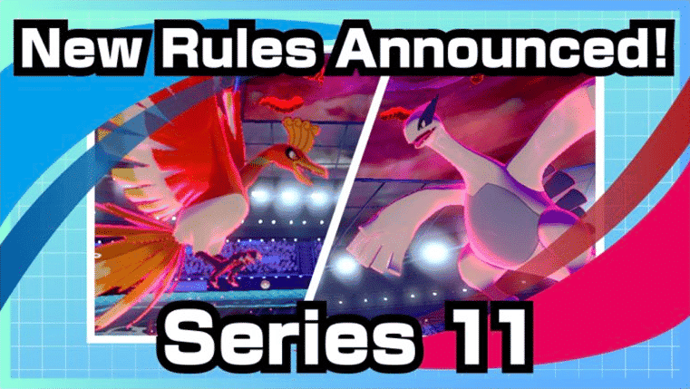 Competitivo de Pokémon Espada y Escudo: Conocemos las reglas de la Serie 11 de Combates Clasificatorios