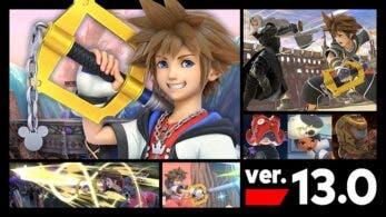 Super Smash Bros. Ultimate se actualiza a la versión 13.0.0 con Sora de Kingdom Hearts y más