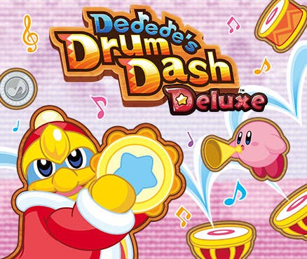 Se añade un panel basado en 'Kirby Fighters Deluxe' y 'Dedede's Drum Dash Deluxe' en el juego de En busca del cromo